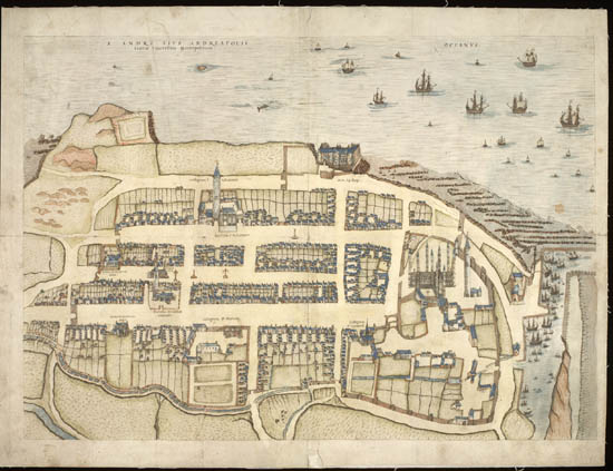"See: <a href=""https://maps.nls.uk/towns/"">Town Plans / Views, 1580-1919</a>"
