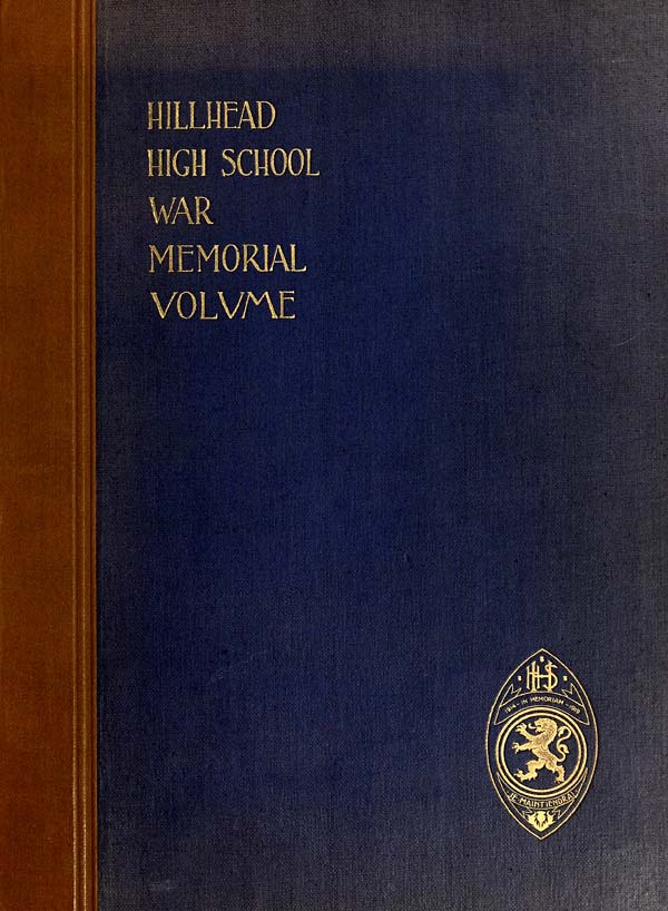 (1) Front cover -