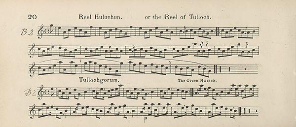 25) Page 20 - Reek Huluchun or reel of Tulloch