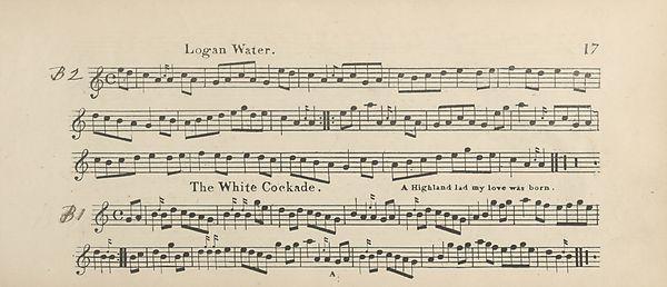 24) Page 17 - Logan Water -- White cockade - Glen Collection