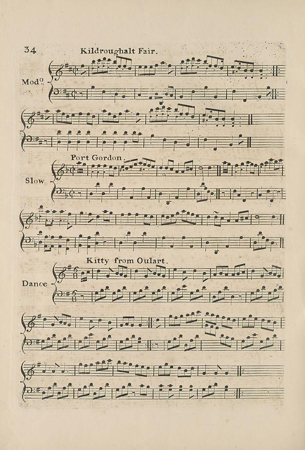 (44) Page 34 - Kildroughalt fair -- Port Gordon -- Kitty from Oulart