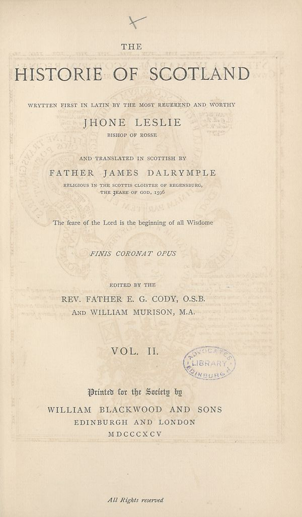 (11) Title page -