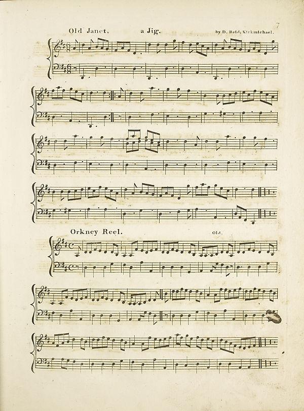 (15) Page 7 - Old Janet -- Orkney reel