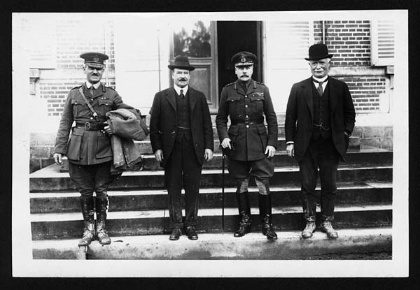 (2) C.1001 - Sir Joseph Ward, General Sir Douglas Haig, Mr Massey