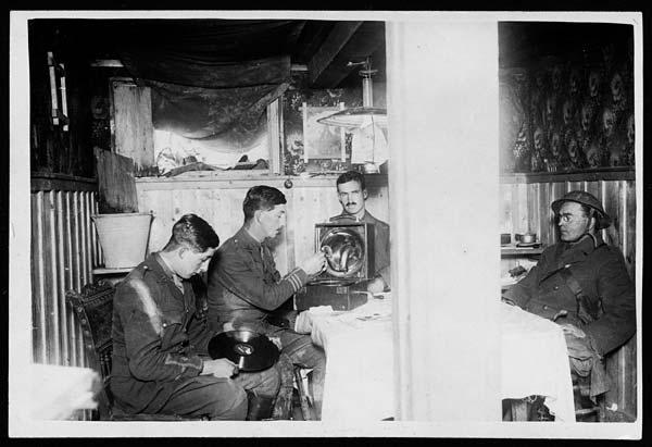 (14) C.1048 - Captured German dugout