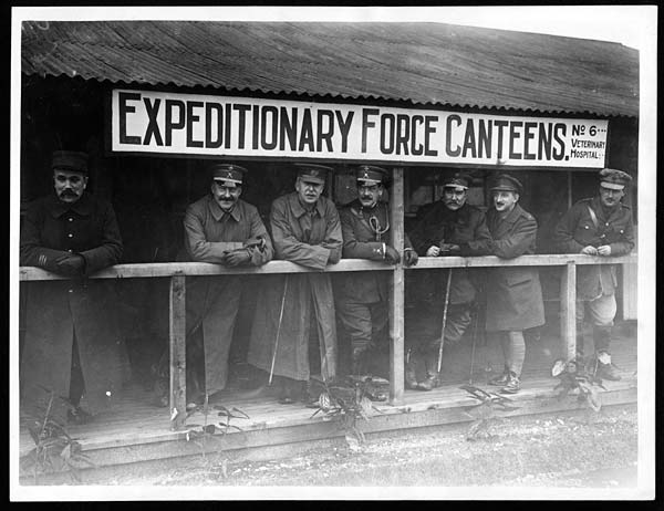 (50) C.1167 - Expeditionary Force canteen