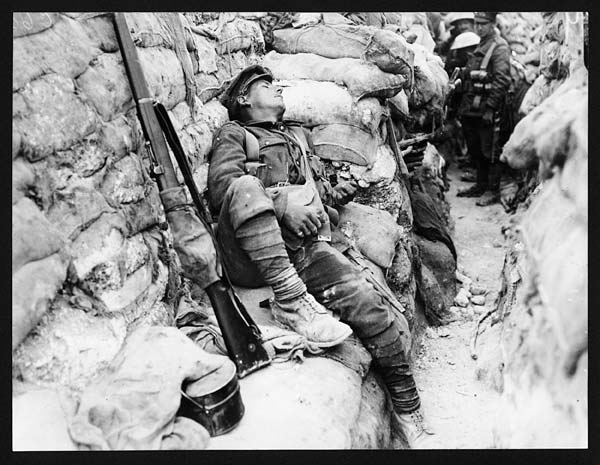 (345) C.605 - Asleep within 100 yards of Thiepval