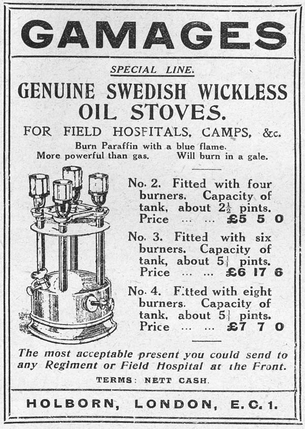 (25) Page 47 - Genuine wickless Swedish oil stoves