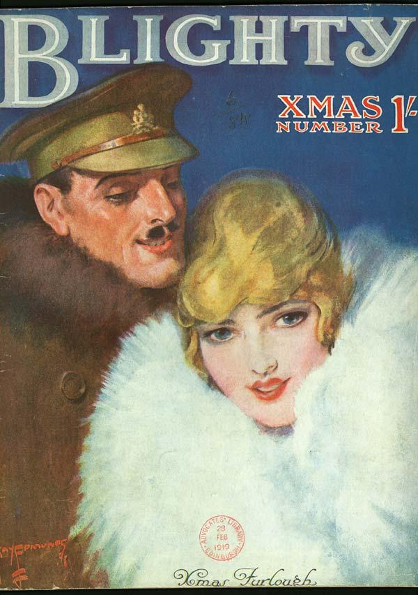 (1) Front cover - Xmas furlough