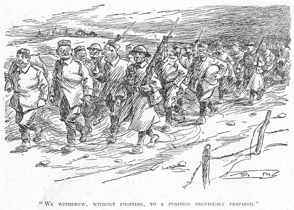 (3) Page 70 - We withdrew, without fighting, to a position previously prepared