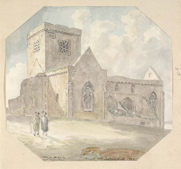(15) 21e - Church at Icolumkill, 1792