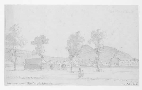 (27) 87a - Sciennes near Edinburgh, S.W. View