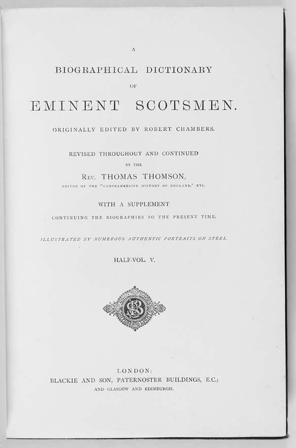 (2) Title page, Half-Volume 5 -