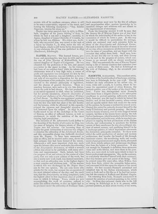 (215) Page 202 - Napier, Macvey