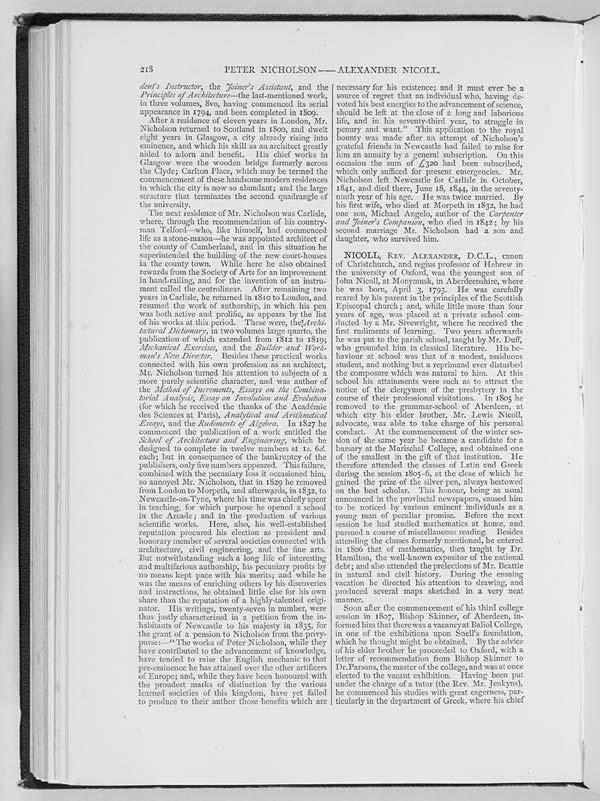 (231) Page 218 - Nicoll, Alexander