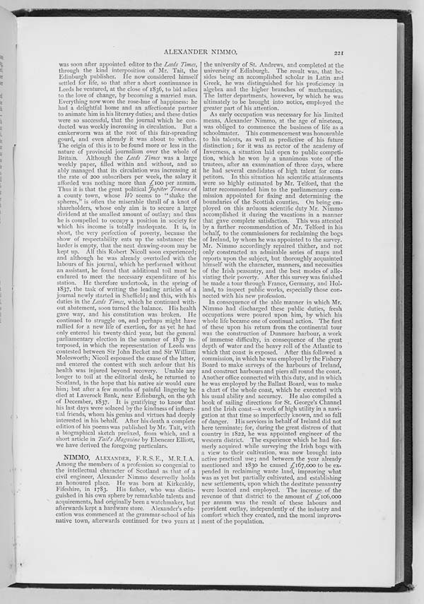 (234) Page 221 - Nimmo, Alexander