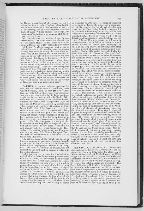 (250) Page 237 - Patrick, Saint