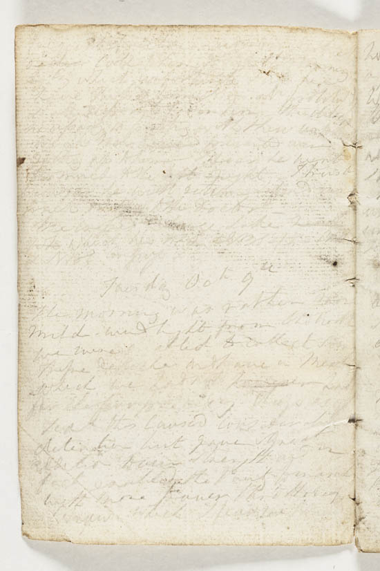 Sir John Franklin's notebook, 1821 - MS.42236