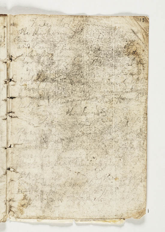 Sir John Franklin's notebook, 1821 - MS.42236