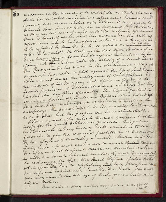 Sir Walter Scott's review of his own work 'Tales of my Landlord', 1816 - MS.42540