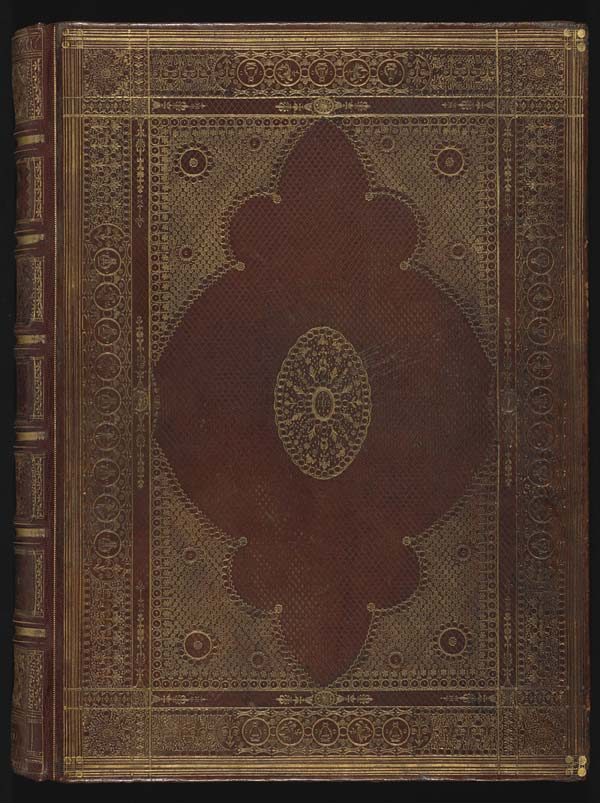 Old Book Front Cover ~ Volume upper cover old testament gt front binding