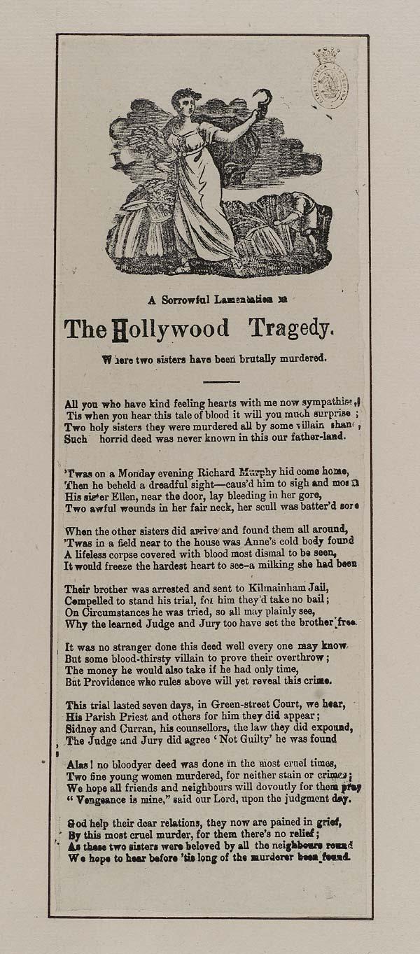 (8) Sorrowful lamentation on the Hollywood tragedy
