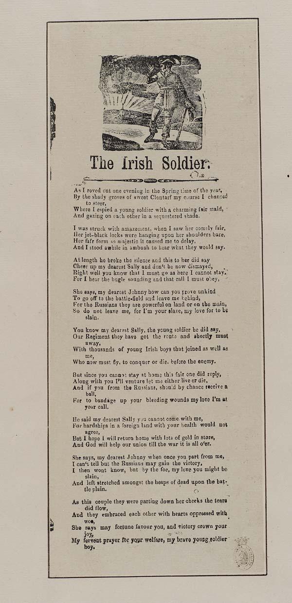 (8) Irish soldier