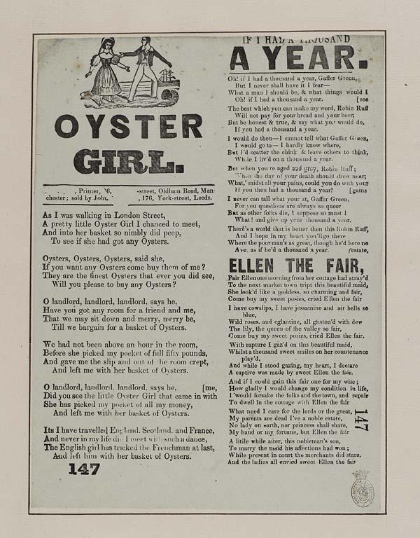 (5) Oyster girl