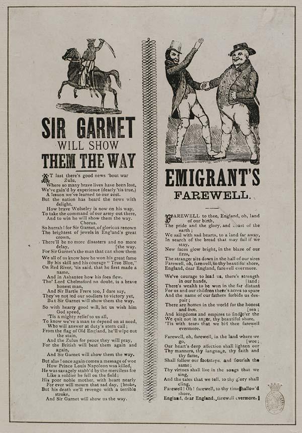 (1) Sir Garnet will show them the way