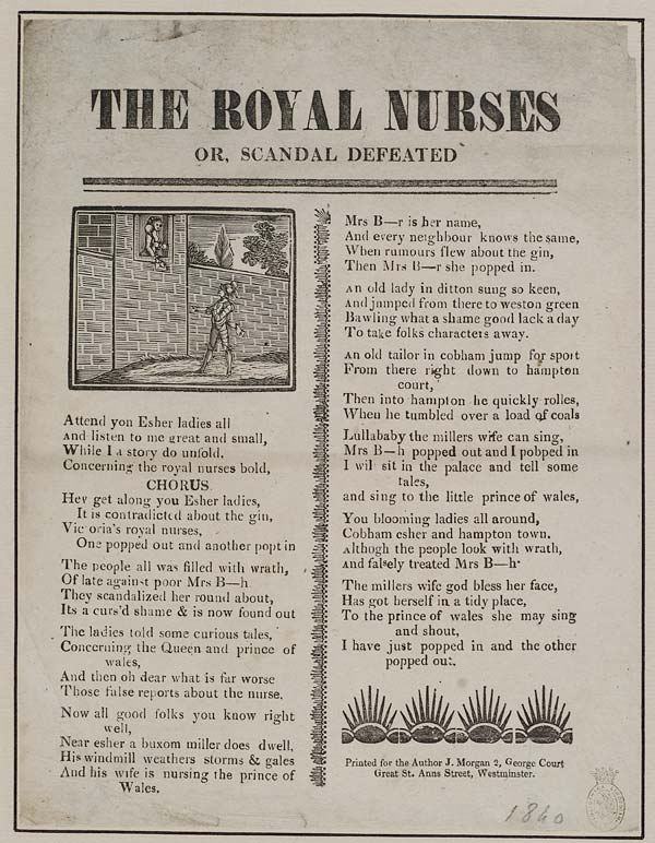 (17) Royal nurses or, scandal defeated