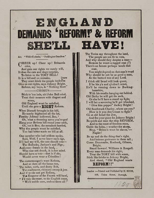 (26) England demands 'reform!' & reform she'll have