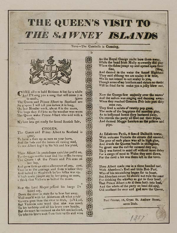 (27) Queen's visit to the Sawney Islands
