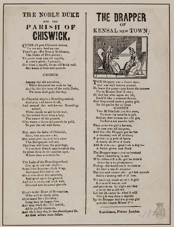 (1) Noble Duke and the parish of Chiswick