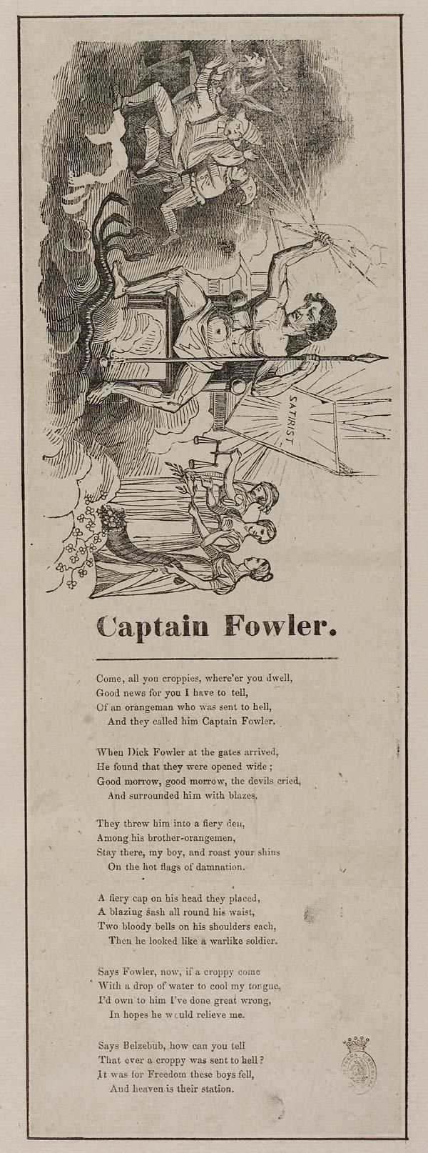(25) Captain Fowler