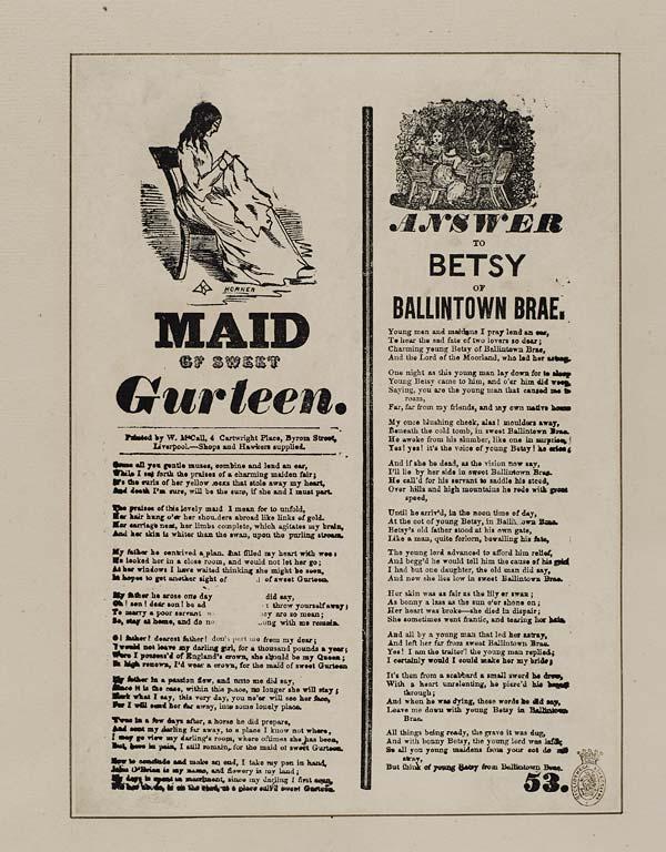 (28) Maid of sweet Gurteen