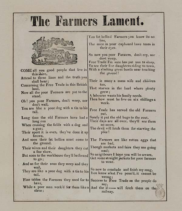 (17) Farmers lament
