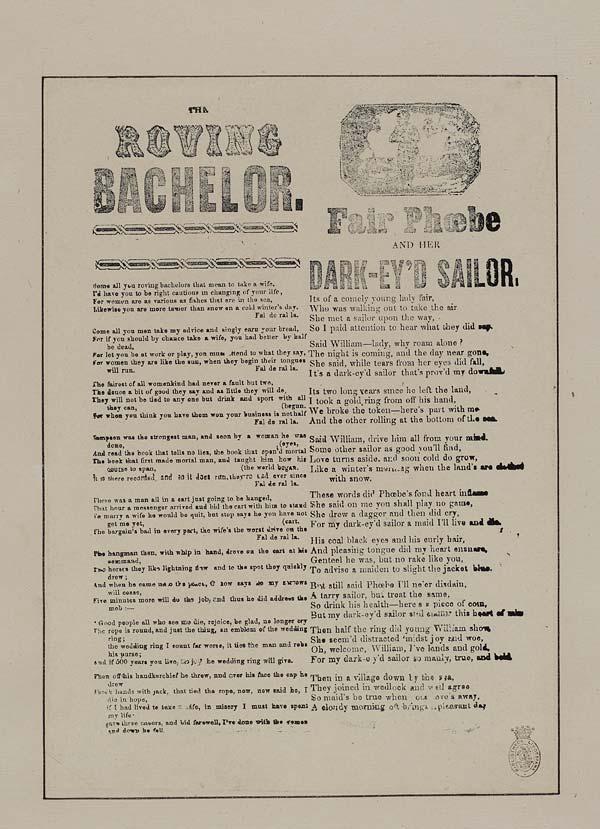 (28) Roving bachelor