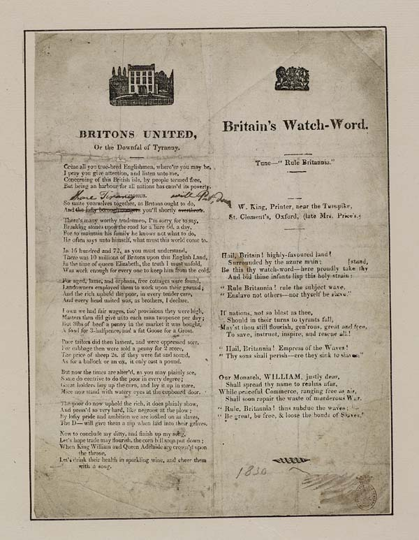 (18) Britons united, or the downfal of tyranny