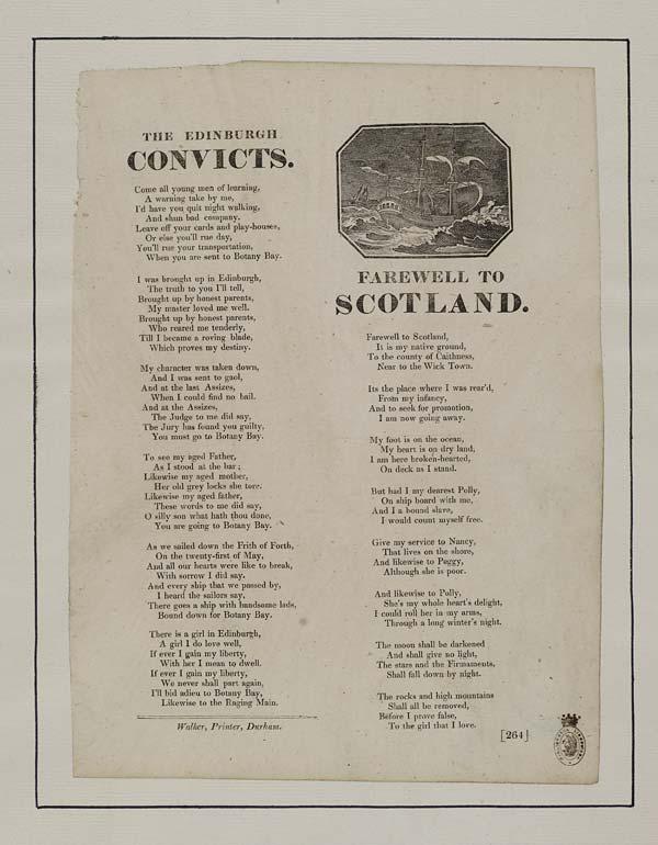 (6) Edinburgh convicts