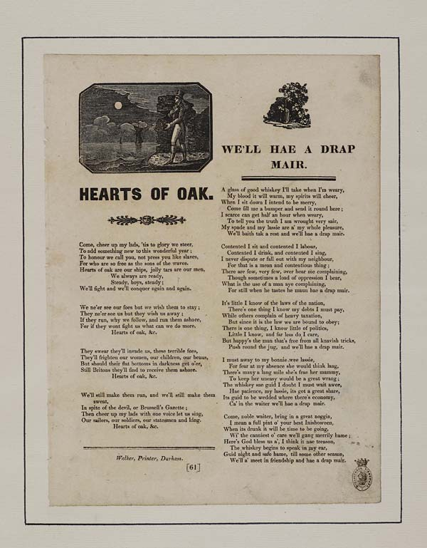 (30) Hearts of oak