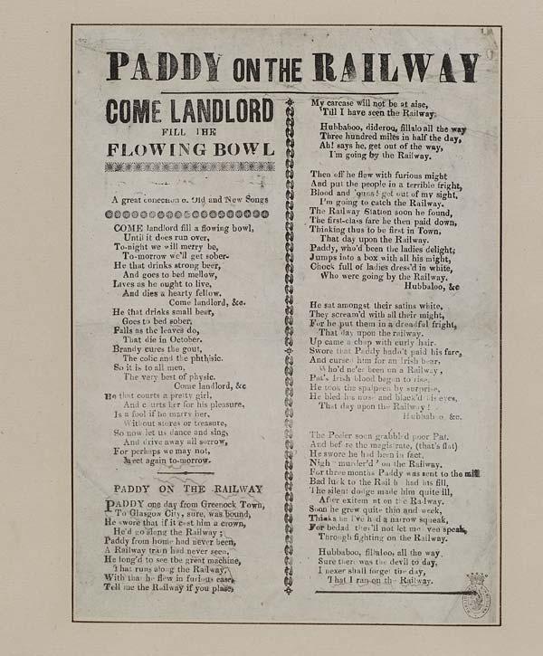 (30) Paddy on the railway