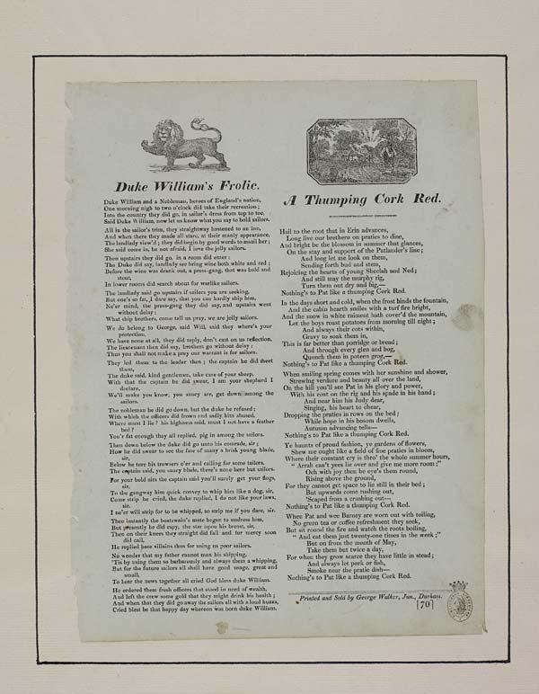 (40) Duke William's frolic