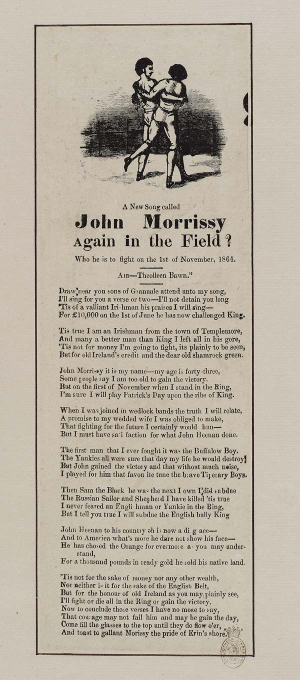 (35) New song called John Morrissy again in the field