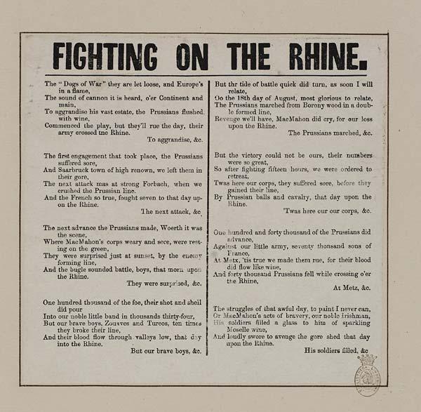 (9) Fighting on the Rhine