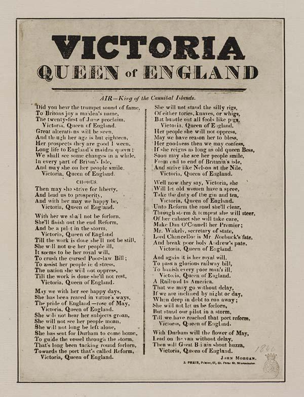 (42) Victoria Queen of England
