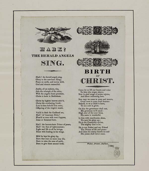(23) Hark, the herald angels sing