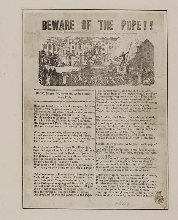 (25) Beware of the Pope