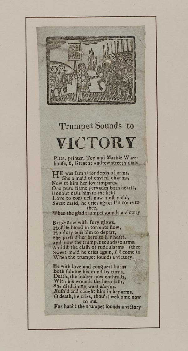 (45) Trumpet sounds to victory