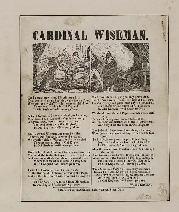 (27) Cardinal Wiseman