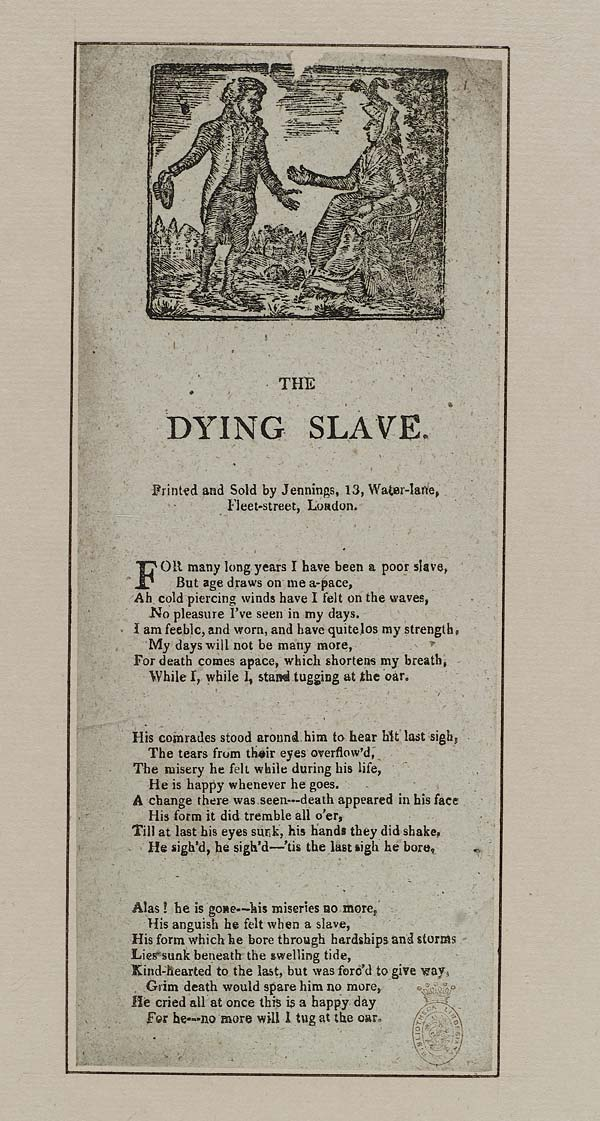(4) Dying slave